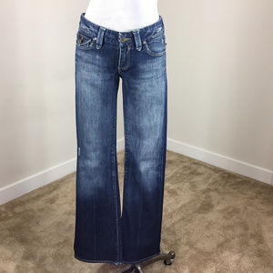 Paige Pico jeans Distressed 28 boot  Anthropologie